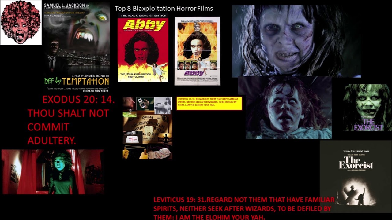 HOW ART IN HORROR MOVIES ILLUSTRATE THE BLACK NEGRO REAL HEBREW ISRAELITE'S STRUGGLE