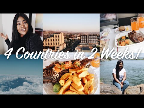 TRAVEL VLOG: Come with me to Botswana, Namibia, Kenya and Uganda