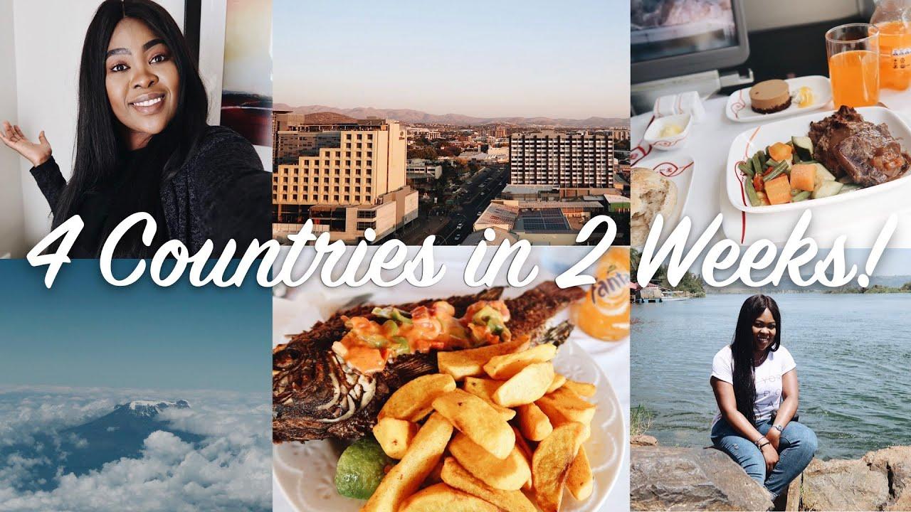 TRAVEL VLOG: Come with me to Botswana, Namibia, Kenya and Uganda