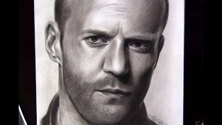 Time-lapse Drawing Jason Statham