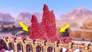 CAN I BUILD A SANTA BRIDGE? - UEBS - Ultimate Epic Battle Simulator