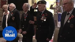 Five British veterans of Second World War awarded Lgion d'honneur