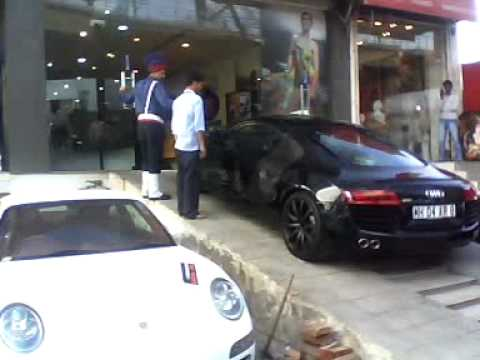 Yo yo honey singh car audi r8 youtube