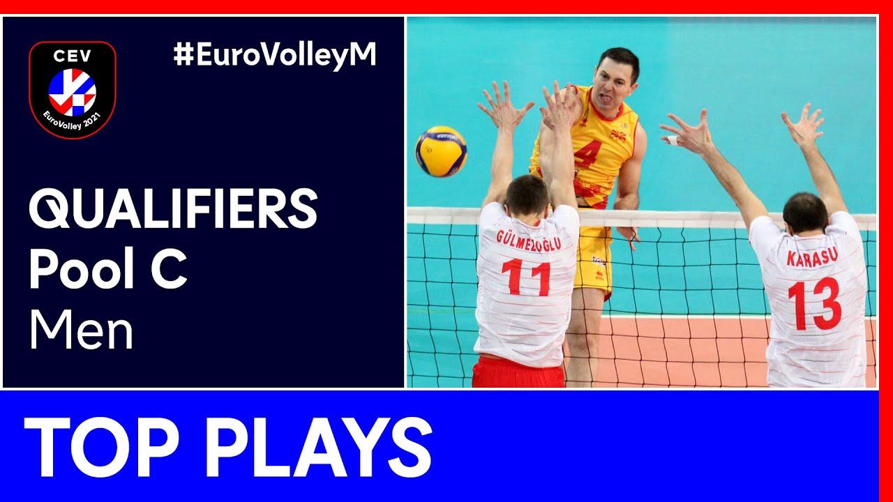 Top 5 Plays Pool C - #EuroVolleyM Qualifiers