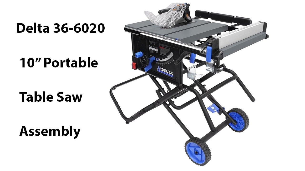 Kobalt Portable Table Saw