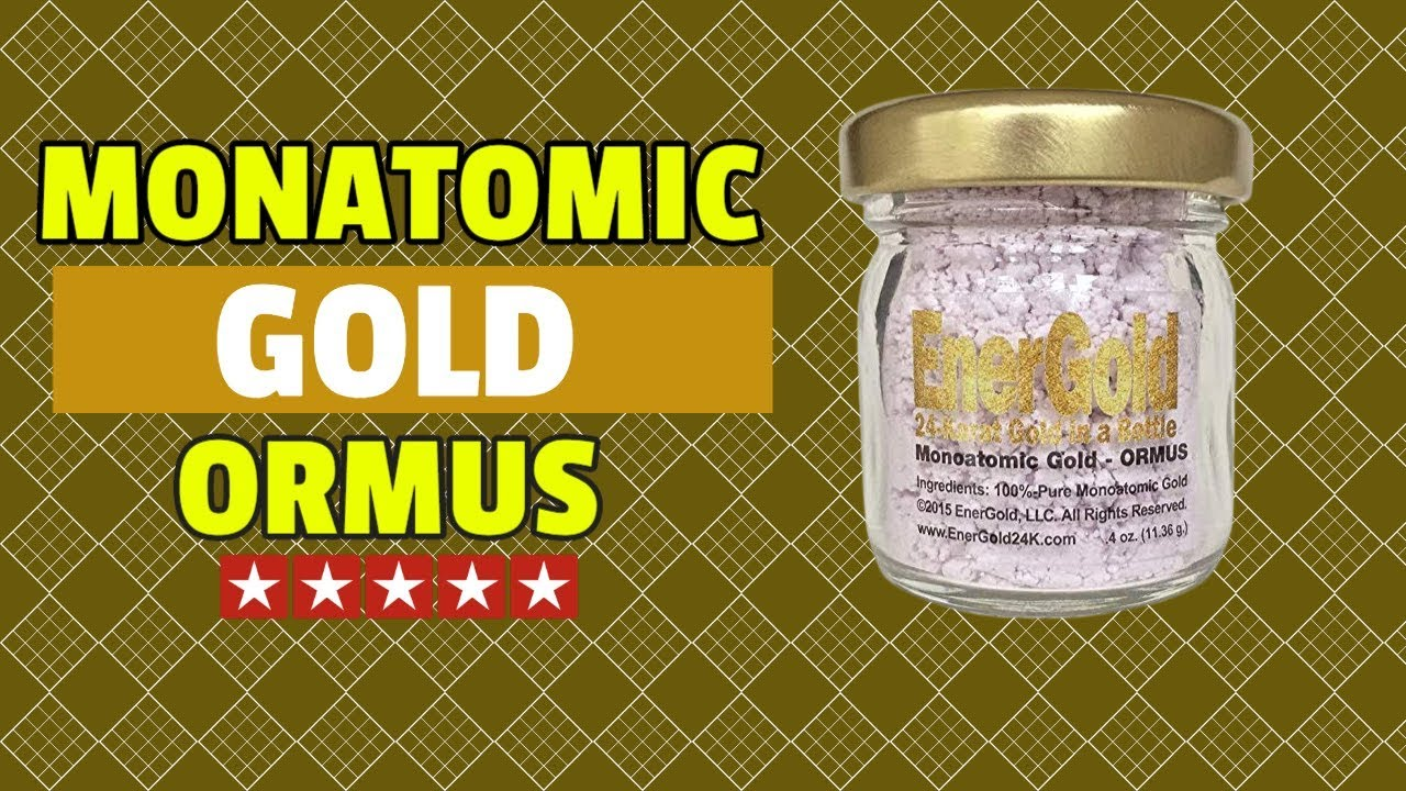 Monatomic Gold Ormus - MFKZT What Is It? - YouTube
