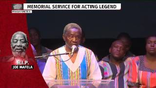Brother pays tribute to legend Joe Mafela