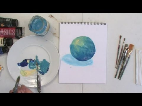 how to add shading in painting