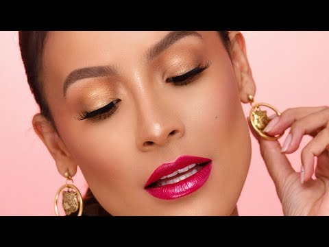 UNIVERSAL EYE LOOK FOR ANY LIP COLOR   DESI PERKINS
