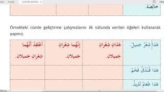 Ata Üni #AÖF #Arapça 3 / 14.Ünite/ GEÇMİŞ KONULARA YÖNELİK ÇALIŞMA
