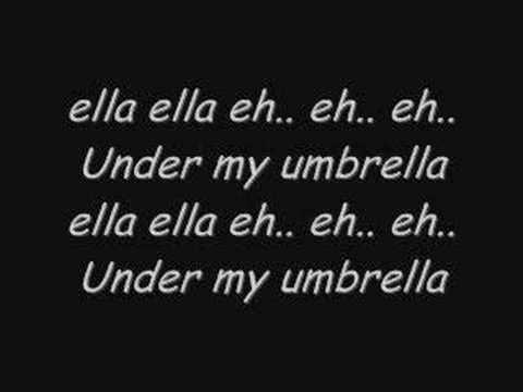 Umbrella - Vanilla Sky