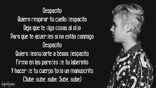 Baixar Despacito - Luis Fonsi, Daddy Yankee ft. Justin Bieber (Lyrics)