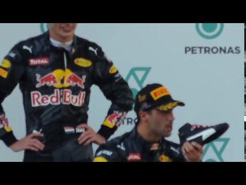Daniel Ricciardo - 2016 Malaysian F1 Win