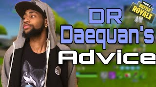 Daequan's Advice on Cheating| Guided missile Riding 200IQ| Fortnite Battle Royale Gameplay|