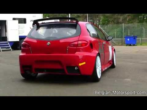 Alfa Romeo 147 cup - nice induction sound (incl idle and revving)