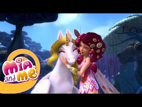 Мия и Я - 1 сезон 16 серия - Ловушка для единорога |  Мультики для детей про эльфов, единорогов