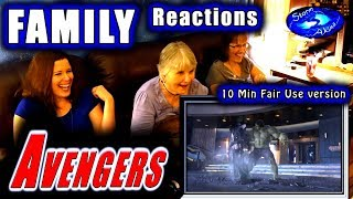 Avengers | FAMILY Reactions | 10 Mins Fair Use Version