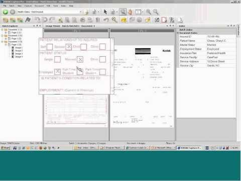 Capture Pro Software Mark Detection Indexing