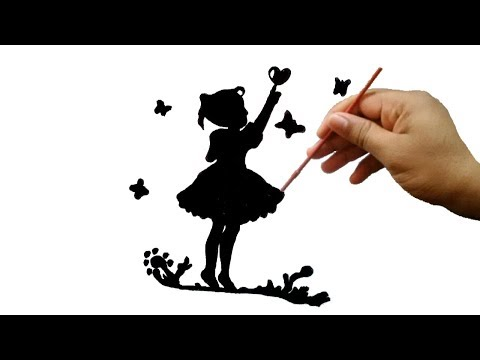 رسم ابيض واسود رسومات مميزة للاطفال صور حب