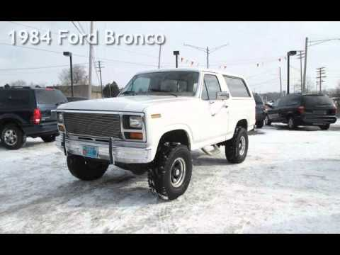 1984 ford bronco for sale in waterford mi youtube. Black Bedroom Furniture Sets. Home Design Ideas