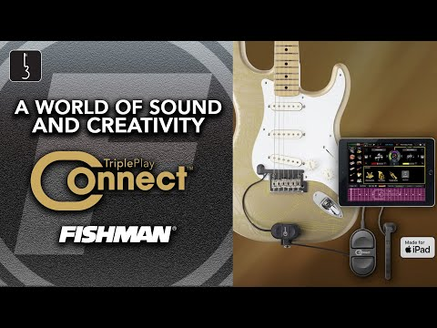 "Summer NAMM 2019: Fishman's TriplePlay Connect lets you ""use your guitar to mix like a DJ"" 