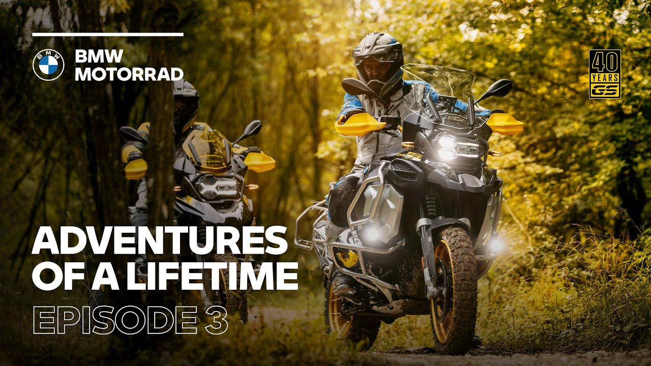 Adventures of a Lifetime l #3 A World of Experience (ft. the new 2021 R 1250 GS / GS Adventure)