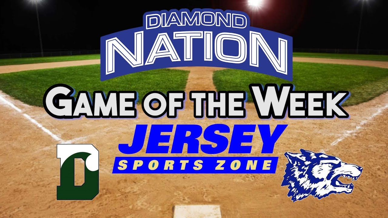 Delbarton 2 West Morris 1 | Diamond Nation Game of the Week | Jack Leiter  14 K's in MCT Final