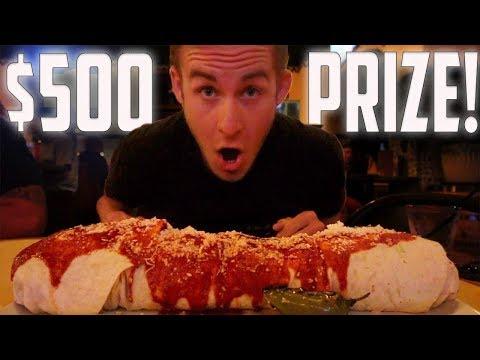 $500 CASABLANCA BURRITO CHALLENGE!