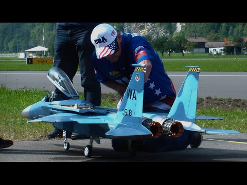 RC Turbine Jet F-15 Eagle Fighter TEAM USA JWM Meiringen/Switzerland AFB
