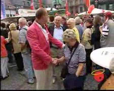 Hans Werner Olm - Paul Schrader - Wahlkampf
