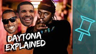 Drake's DISS and Kanye's VISION   Pusha T - Daytona EXPLAINED