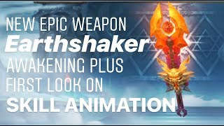 Tales of Thorn - NEW WEAPON Earthshaker First Look