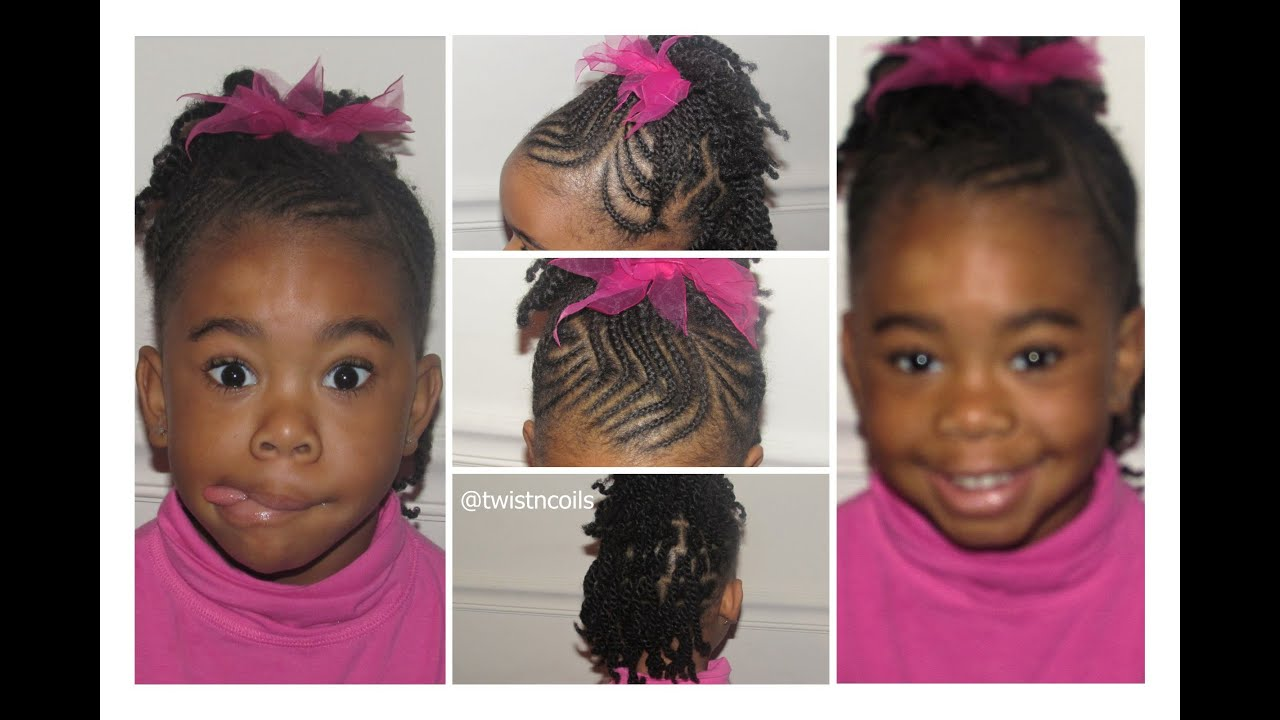 ♡ TnC 30 ♡ How to do Zig Zag Braids Fun Cute Hairstyles for