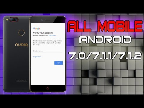 BYPASS FRP GOOGLE ACCOUNT ON ANY MOBILE ANDROID 7 LAST UPDAT