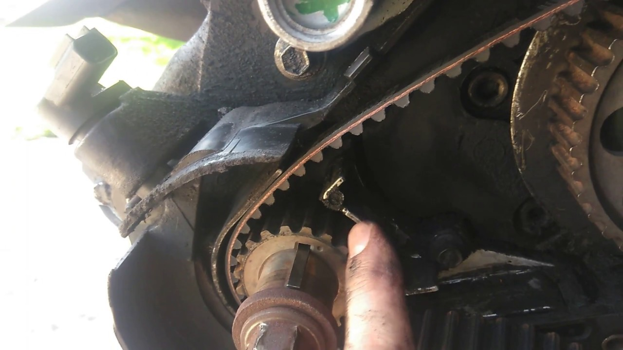 hight resolution of ford ranger timing marks and timing belt replacement without the