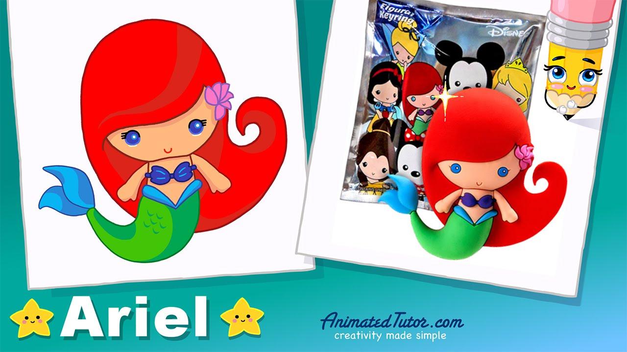 ... - Chibi - Kawaii - Cute and Easy - Disney Figural Rings - YouTube