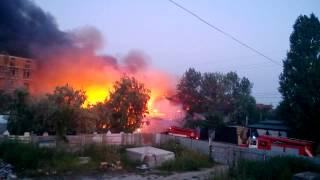 Пожар в пгт  Затока пансионат Рута [15 08 2013](, 2013-08-15T13:15:04.000Z)