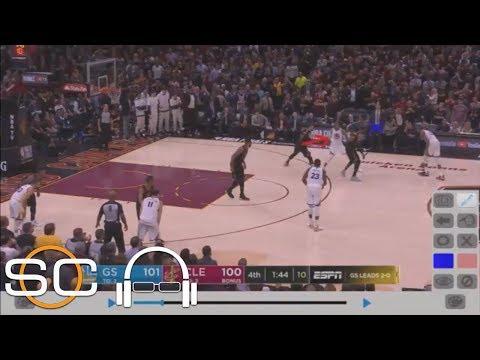 Tim Legler Breaks Down Film Showing How Warriors Got So Open Vs. Cavs In Game 3 | SC With SVP | ESPN
