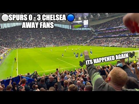 Chelsea Fans Celebrate Big Derby Win Away at Spurs