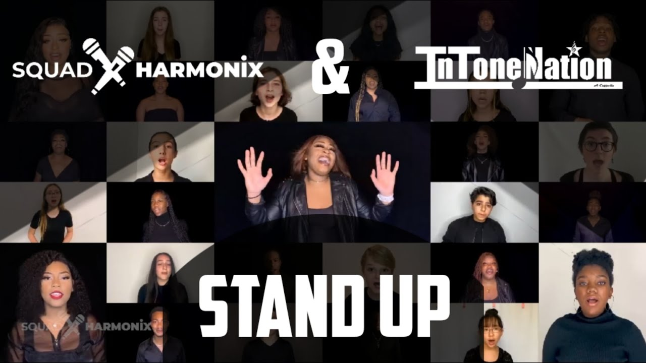 Stand Up by Cynthia Erivo // Squad Harmonix Acappella Cover ft. InToneNation