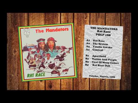 The Mandators ‎– Rat Race (1988) Vinyl FULL ALBUM