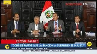 Vizcarra: Gobierno dará soporte a Paolo Guerrero en proceso legal ante el Tribunal Federal Suizo