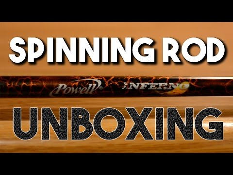 New Spinning Rod Unboxing! Part 2