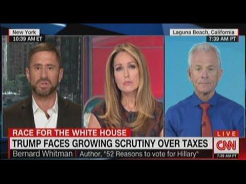Bernard Whitman Discusses Trump's Lack of Transparency