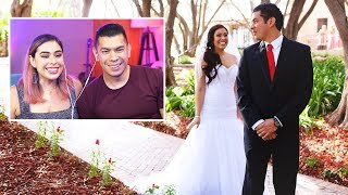 Reacting To Our Wedding Video...7 Years Later