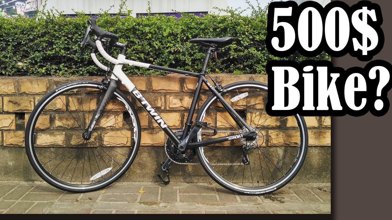 85a02d60fee B-Twin Triban520 | 500$ Road Bike Review - YouTube