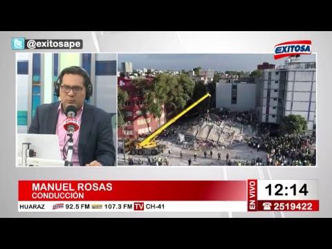 Exitosa Noticias 18 de septiembre del 2017