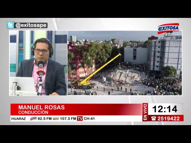 Exitosa Noticias 20 de septiembre del 2017
