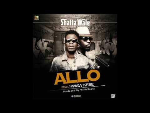Shatta Wale - Allo ft   Kwaw Kese Audio Slide