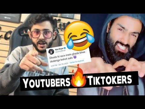 CarryMinati Reply To Tiktokers | Last Reply To Amir Siddiqui  | Tiktokers Vs Youtubers